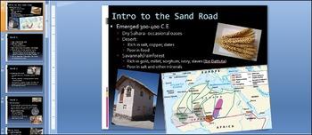 West African Salt Trade Simulation (300-800 C.E.)
