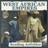 West African Empires Reading Activities: Ghana and Mali
