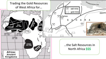 West African Trading Kingdoms: Ghana, Mali, & Songhai