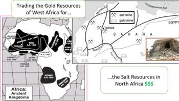West African Trading Kingdoms LESSON BUNDLE: Ghana, Mali, & Songhai