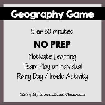 Geography Game West-Central Europe Fun Facts PowerPoint, Maps