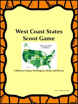 West Coast States Scoot Game