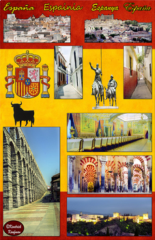 West Indies, Mexico, Spain, & Equatorial Guinea in Photos Posters - Vertical