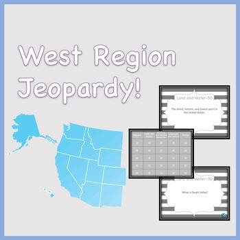 West Region Jeopardy Review Game