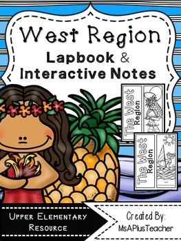 West Region Lapbook & Interactive Notes