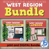 West Region Lapbook and Unit Bundle (5 Regions)