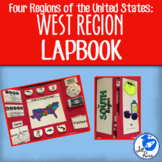 West Region Lapbook or Interactive Notebook {Four Regions}