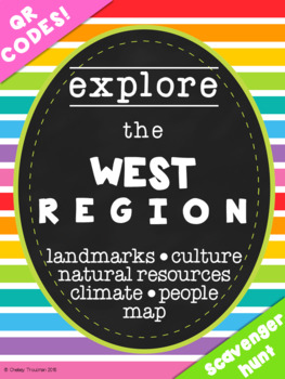 West Region QR Code Exploration