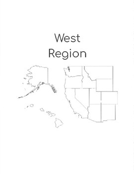 West Region States and Capitals