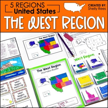 5 Regions of the United States - West Region - US Regions by ...