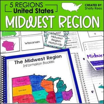 Regions of the United States - Midwest Region - US Regions