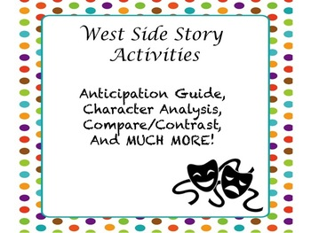 West Side Story Activities