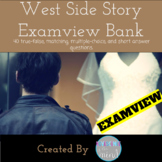 West Side Story ExamView Bank (Goes with Romeo and Juliet)