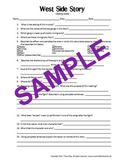 West Side Story Musical Viewing Guide Worksheet