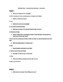 West Side Story Questions