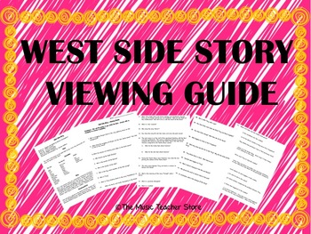West Side Story Viewing Guide