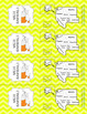 West States Bookmarks with States, Capitals, and Abbreviations