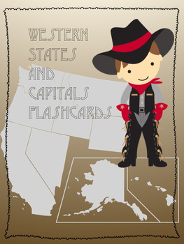 West States and Capitals Flashcards