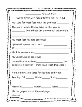 West Test Student Goals