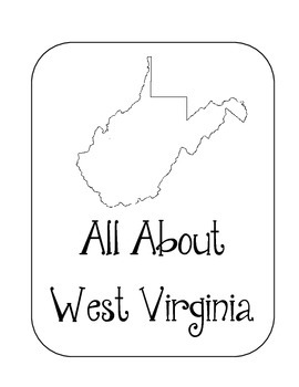 West Virginia State Lapbook. Interactive Notebook. US History and Geography