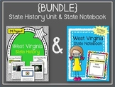 West Virginia {BUNDLE} State History Unit & State Notebook. US History