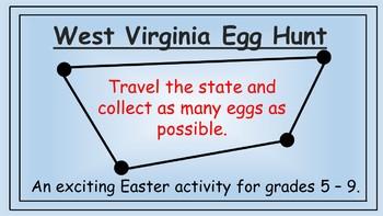 West Virginia Easter Math Activity