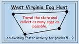 West Virginia Easter Math Activity