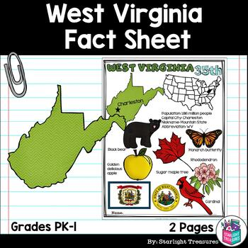 West Virginia Fact Sheet