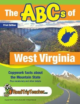 West Virginia Handwriting Printables - Print Edition
