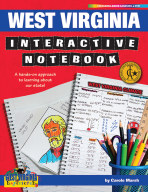 West Virginia Interactive Notebook: A Hands-On Approach to Learning About Our State!