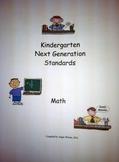 West Virginia Kindergarten USER FRIENDLY Next Generation S
