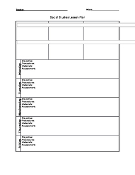 West Virginia Lesson Template 3rd Grade
