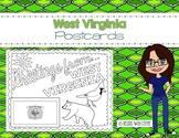 West Virginia Postcard - Classroom Postcard Exchange
