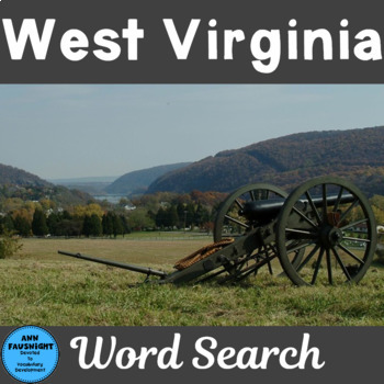 West Virginia Word Search