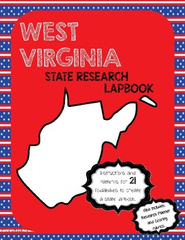 West Virginia State Research Lapbook Interactive Project