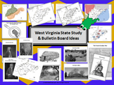 West Virginia State Study & Bulletin Board Ideas