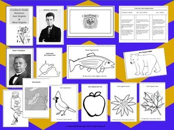 West Virginia State Study & Bulletin Board Ideas