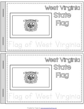 West Virginia State Symbols Notebook