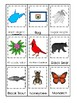 West Virginia State Symbols themed 3 Part Matching Preschool Literacy Card Game.