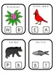 West Virginia State Symbols themed Beginning Sounds Clip It Preschool Card Game.