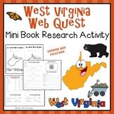 West Virginia Webquest Common Core Research Mini Book