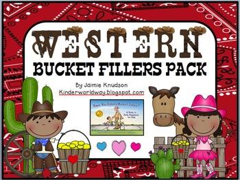 Western Theme Bucket Filler Pack! EDITABLE VERSION!