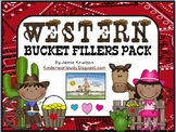Western Theme Bucket Filler Pack! EDITABLE VERSION!