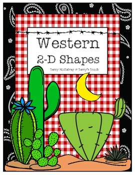 Western 2D Shapes Posters