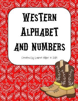Western Alphabet and Numbers