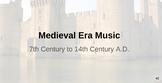 Western Art Music: Medieval Era