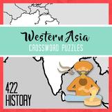 Western Asia Crossword Puzzles