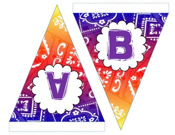 Western Bandana Banner