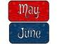 Western Bandana Calendar Set