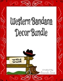 Western Bandana Decor Bundle